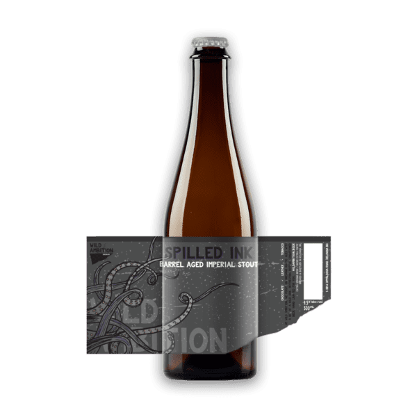 Spilled Ink Barrel Aged Imperial Stout   Wild Ambition Brewing