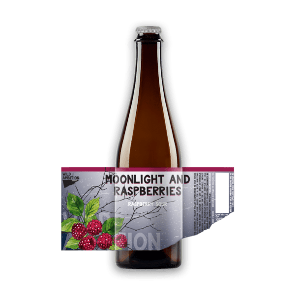 Moonlight and Raspberries - Raspberry Sour   Wild Ambition Brewing