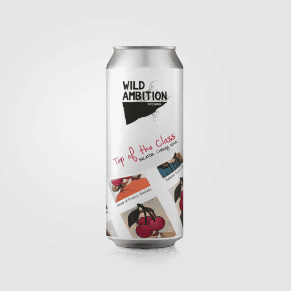Top of the Class Balaton Cherry Sour | Wild Ambition Brewing